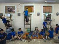 פיקוד העורף ילדים מקלטים/  צלם: רויטרס